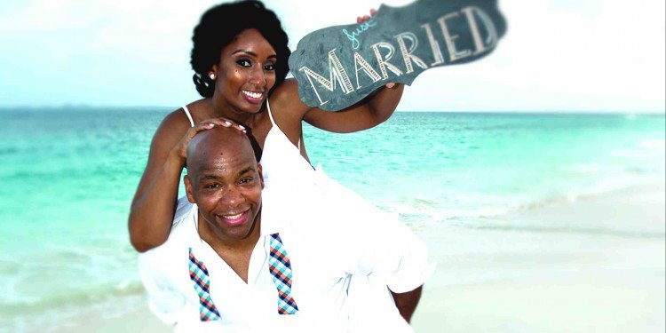 Couple Anguilla Wedding