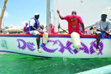 Anguilla Boat Race De Chan Anguilla Carnival
