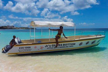 Glass bottom boat ride - Anguilla