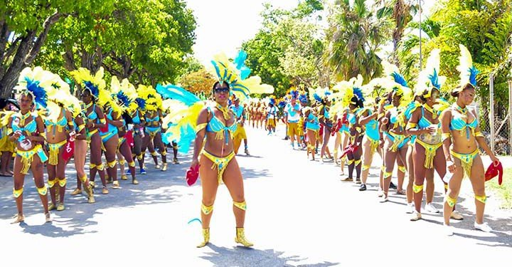 Anguilla parade of troupes