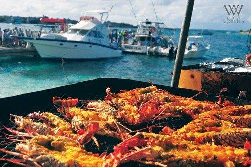 2016 Festival Del Mar cray fish