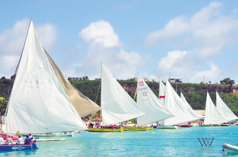 Anguilla Boat Race Sandy Ground