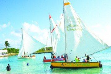 Anguilla Boat Race Schedule Anguilla Class B boat race Capjuluca