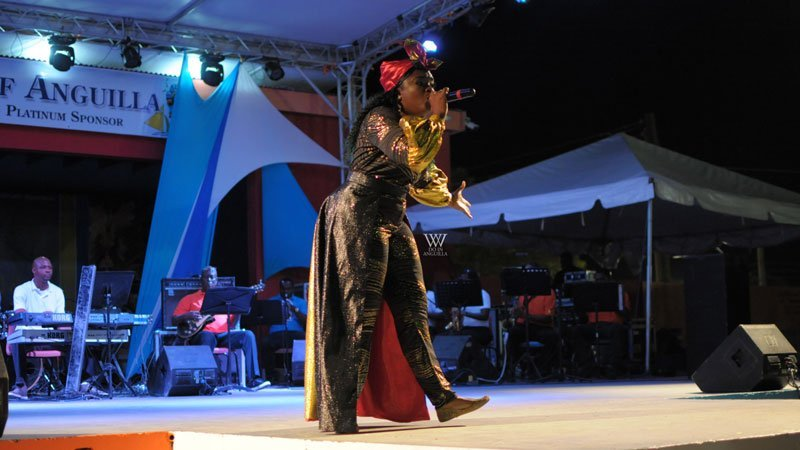 Roxxy Senior Calypso Winner Anguilla Summer Festival Winners