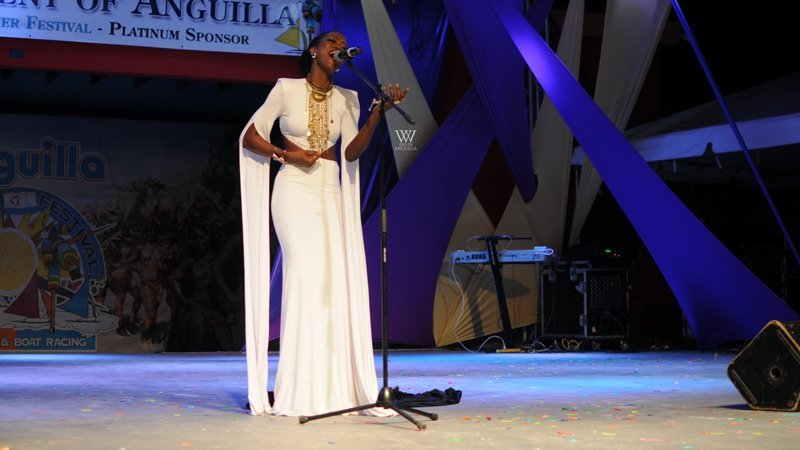 Dee-Ann Rogers Miss Anguilla Winner Anguilla Summer Festival Winners
