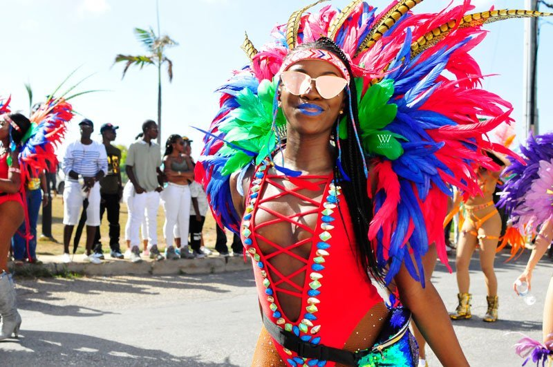 Players troupe Anguilla Summer Festival