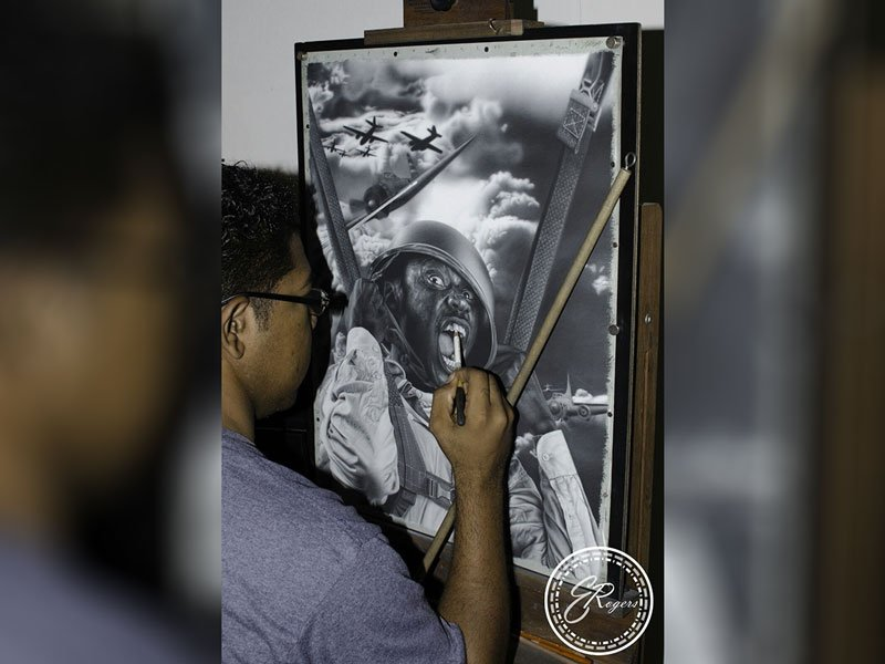 Anguilla art Ani Art Academy