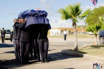 Jame Ronald Webster Coffin Police