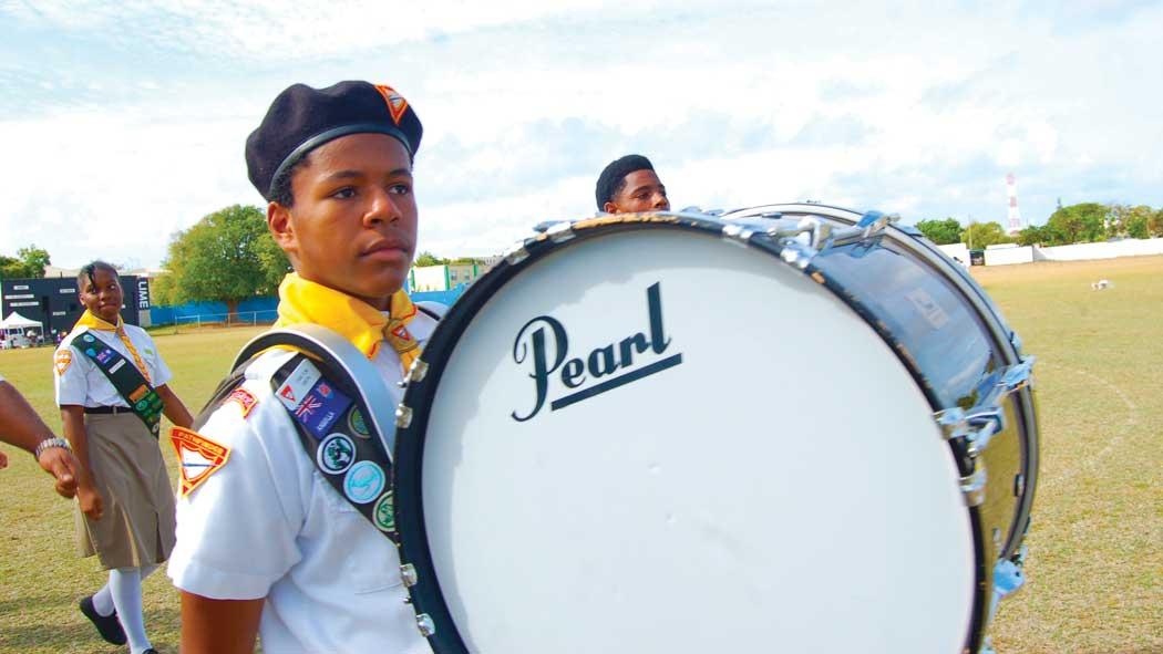 Anguilla Day Parade Pathfinders