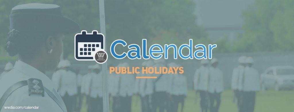 Anguilla Public Holidays