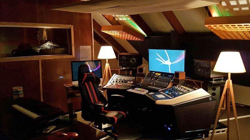 Anguilla Music Academy mixer board