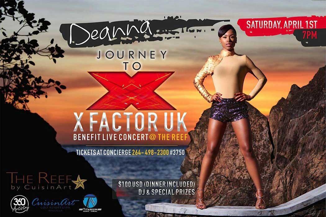 Deanna X Factor UK Benefit Concert