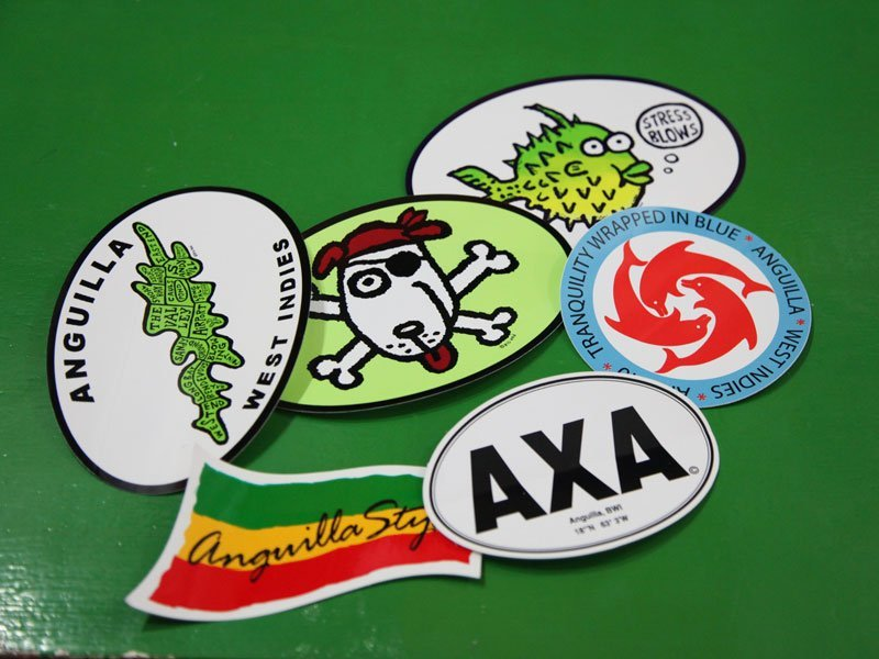 Irie Life Anguilla Badges