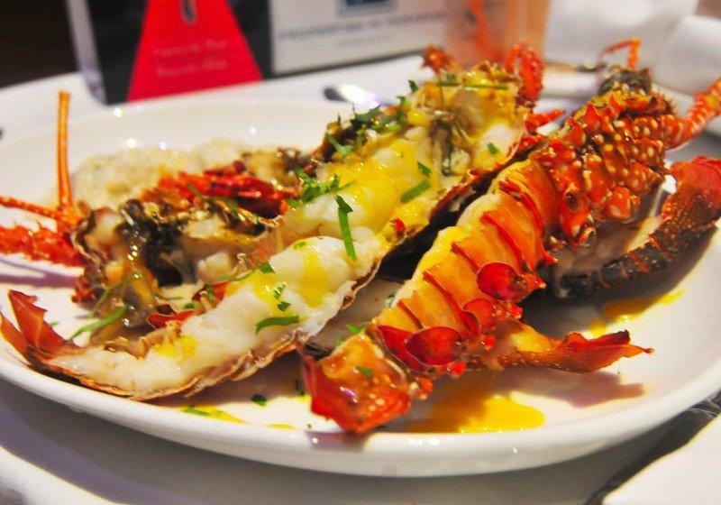 Runway Anguilla Lobster Meal