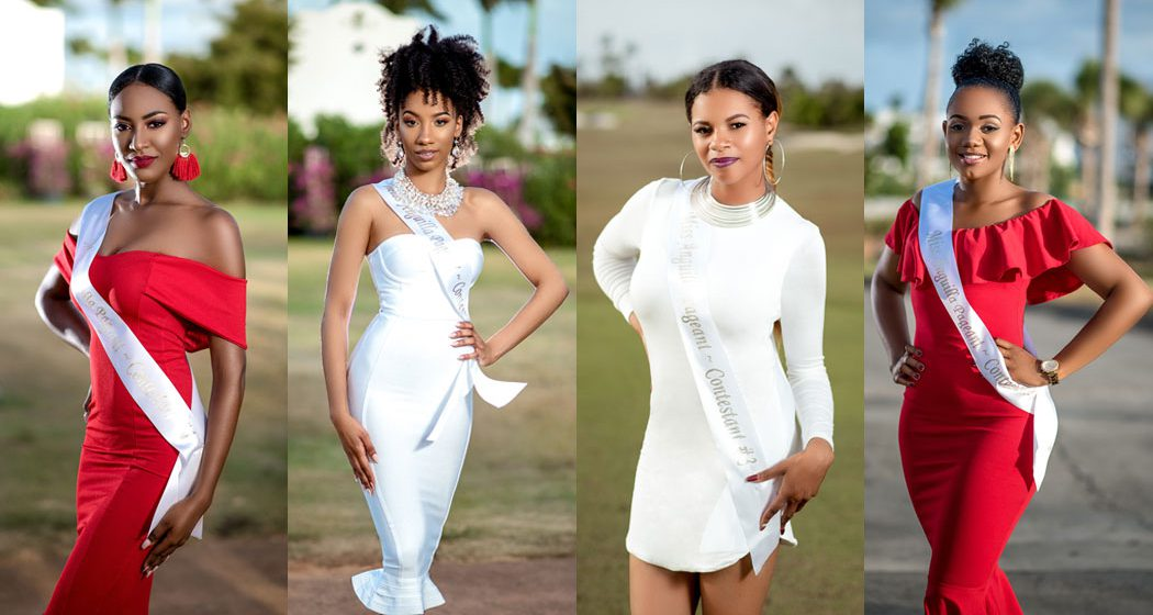 2018 Miss Anguilla Contestants
