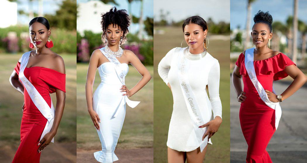 2018 Miss Anguilla Contestants