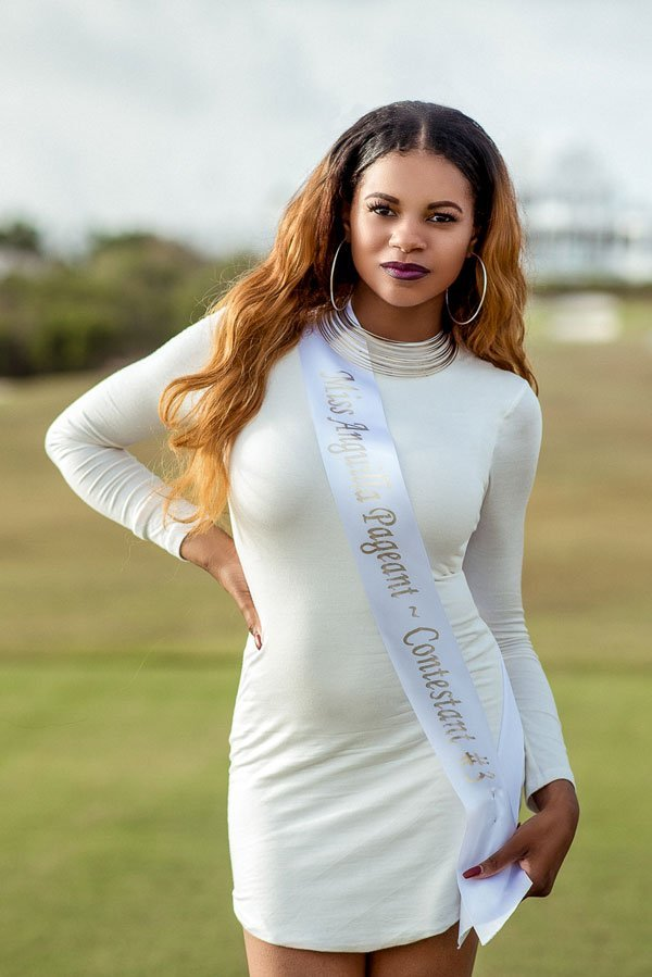 Crystal Richardson Miss Anguilla Contestant