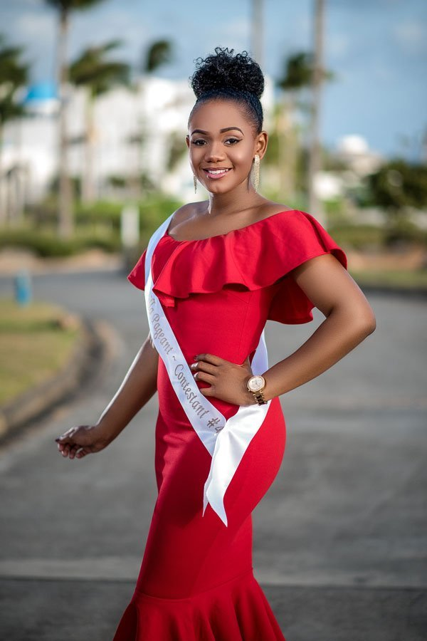 Pamela Jalle Miss Anguilla Contestant