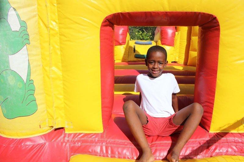 Kel's Candy Bouncing Castle Boy