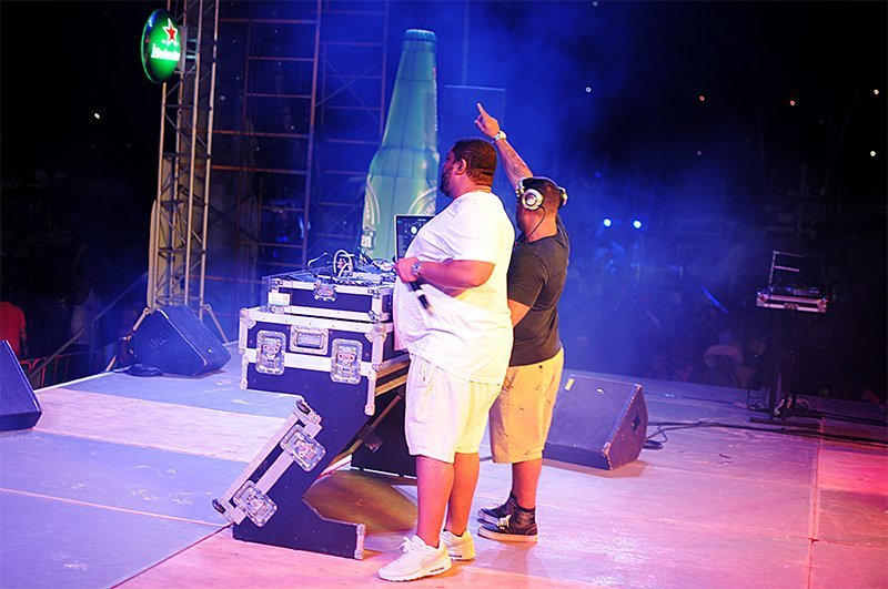 Anguilla's August Monday Beach Party 2017- DJ Shortkutz & DJ Big Ben