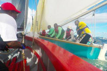 2017 Anguilla Boat Race Tactics Hard Lee Real Deal Blue Bird