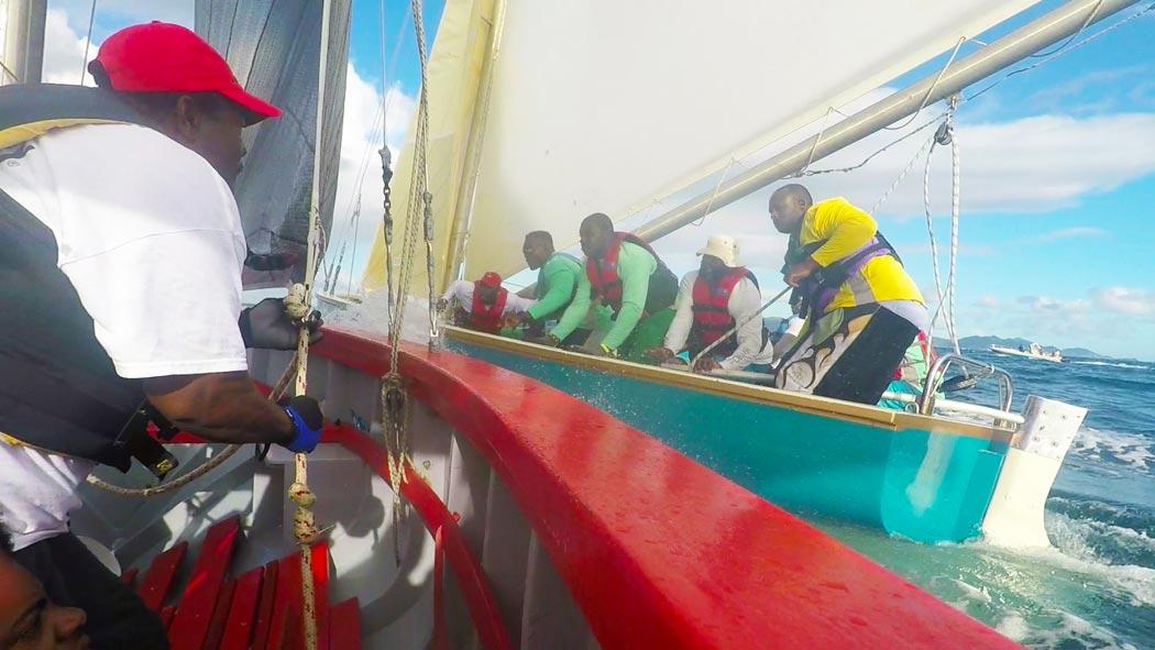 2017 Anguilla Boat Race Hard Lee Real Deal Blue Bird