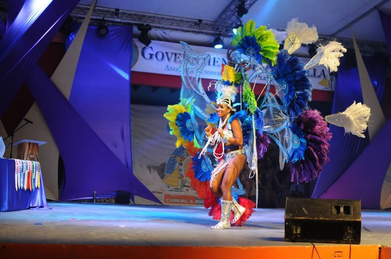 Miss Anguilla, Contestant #4, Aliyah Alfred, Best Costume