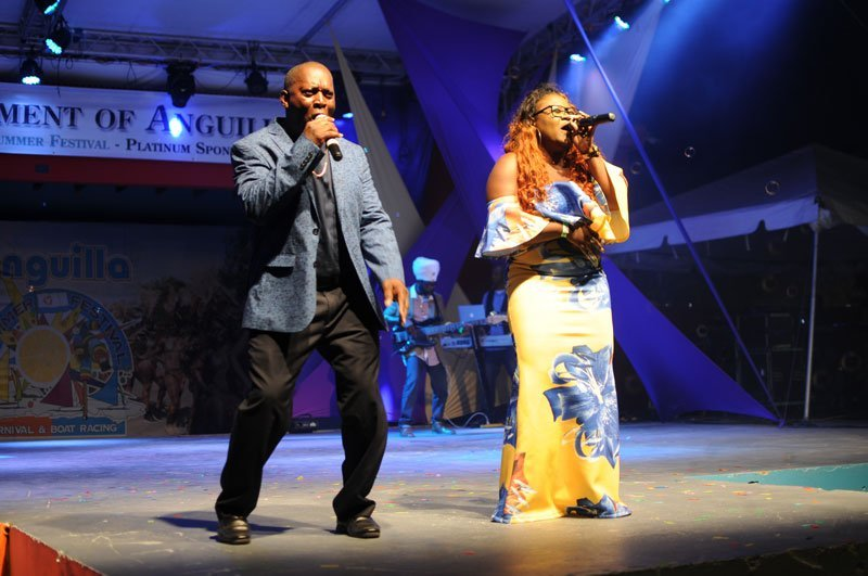 Miss Anguilla, Boss and the Horse Power Band