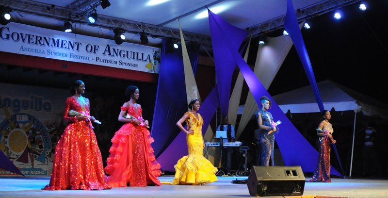 Miss Anguilla Queen Pageant 2017 contestants