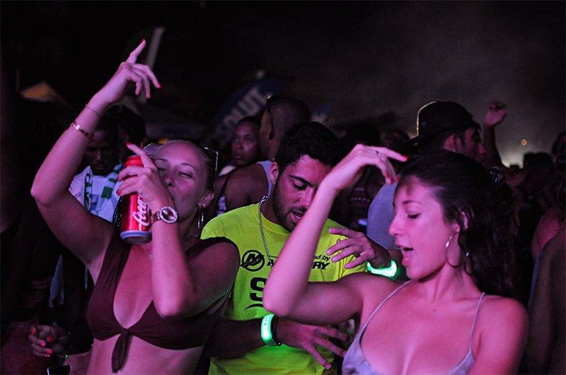 Anguilla's August Monday Beach Party 2017 DJ Shortkutz & DJ Big Ben
