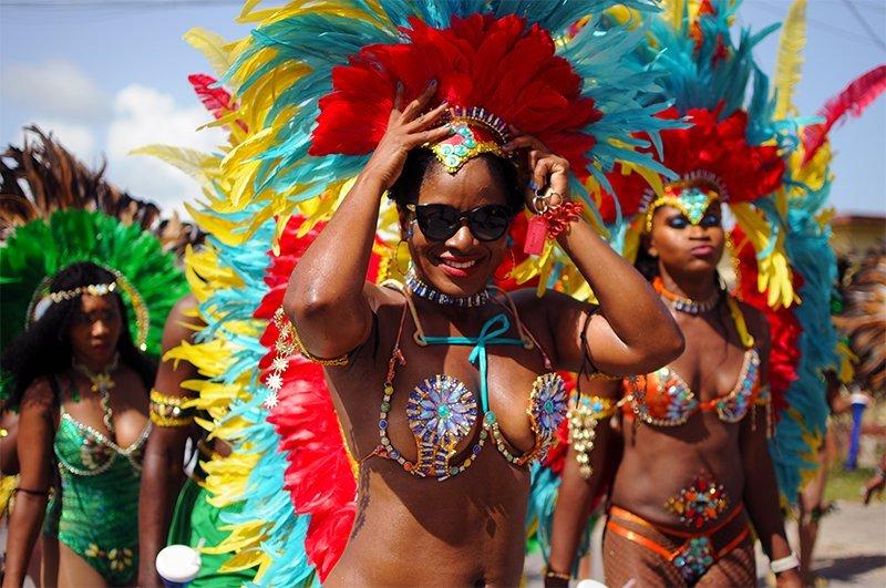 2017 Parade of Troupes Anguilla Dorla Hodge