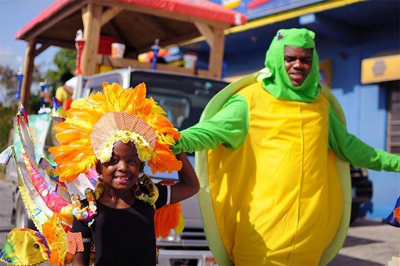 2017 Parade of Troupes Anguilla Tiny Tott