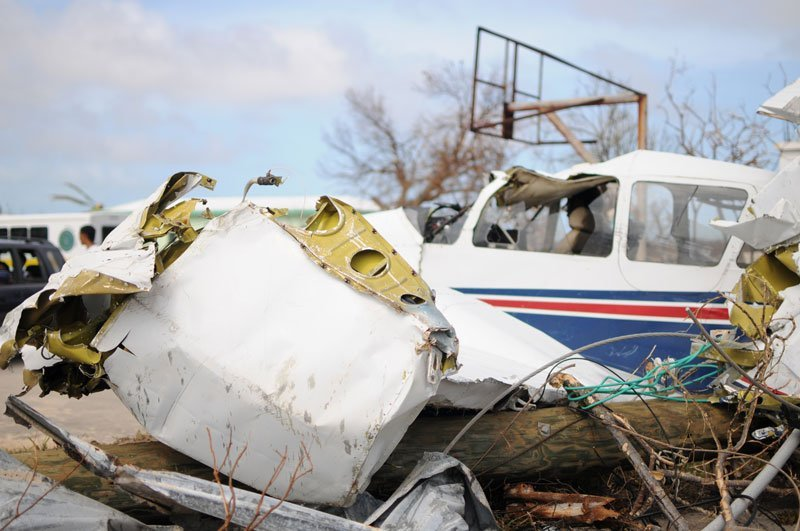 Hurricane Irma Anguilla Airplane