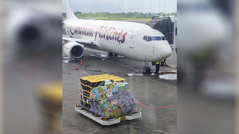 Yes She Can Anguilla Relief Caribbean Airlines