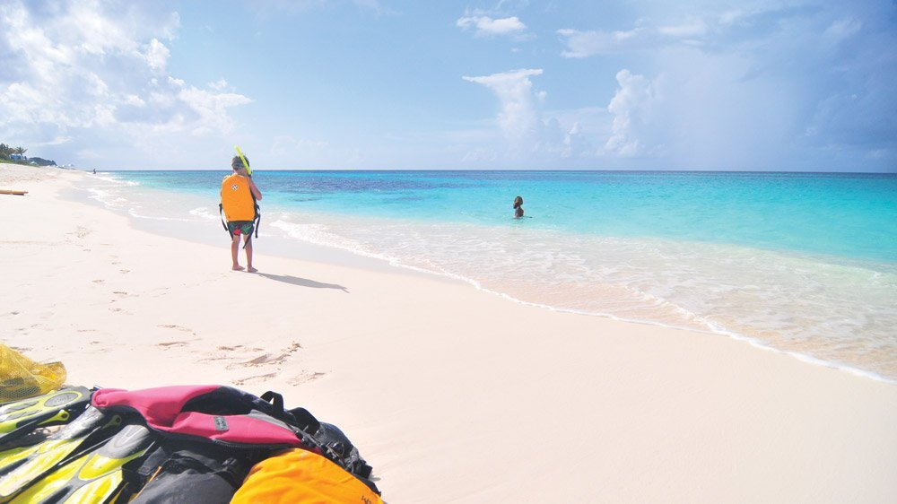 Go Beach Shoal Bay Anguilla