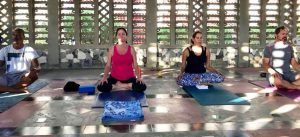 Anguilla Yoga Sessions at the Roman Catholic Church
