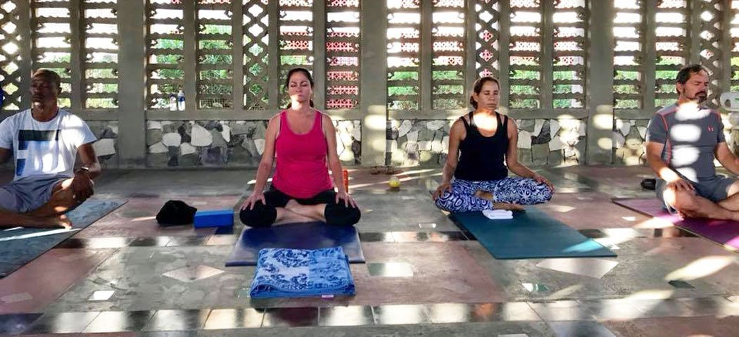 Anguilla Yoga Sessions at the Roman Catholic Church