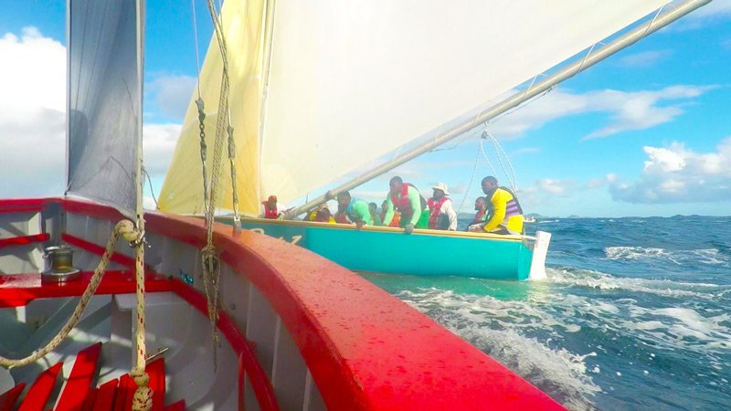 Winning Anguilla Race Boat Real Deal