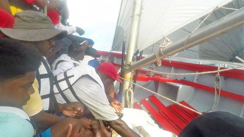 Winning Anguilla Race Boat