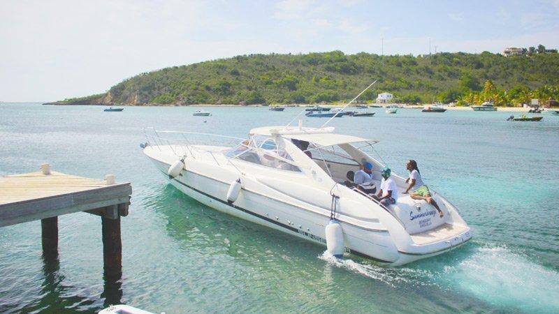 Characteristics of a winning Anguilla Race Boat Cigarette Boat