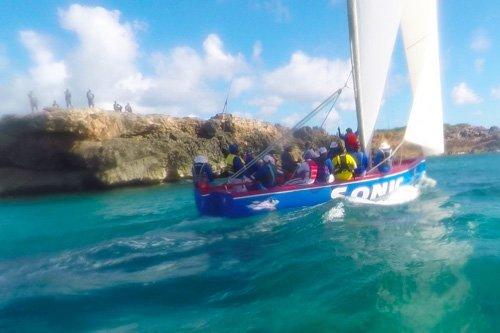 Winning Anguilla Race Boat Sonic