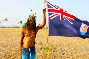 J'ouvert Anguilla 2018 Anguilla Flag