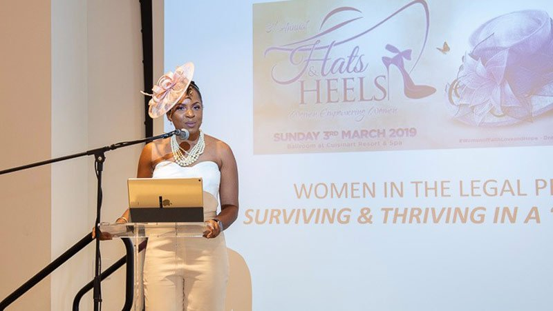 Jean Dyer Hats and Heels Womens Week Anguilla
