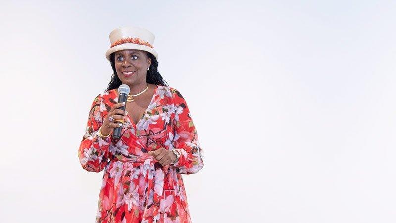 Josephine Gumbs-Connor Hats and Heels Womens Week Anguilla