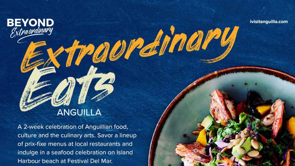 Extraordinary Eats Anguilla