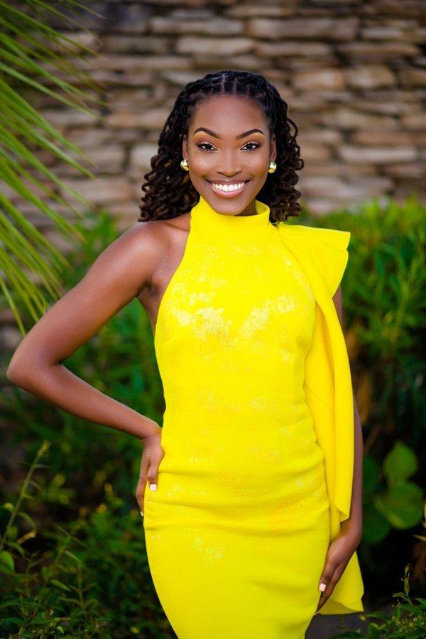 Miss Anguilla Contestant Latonya