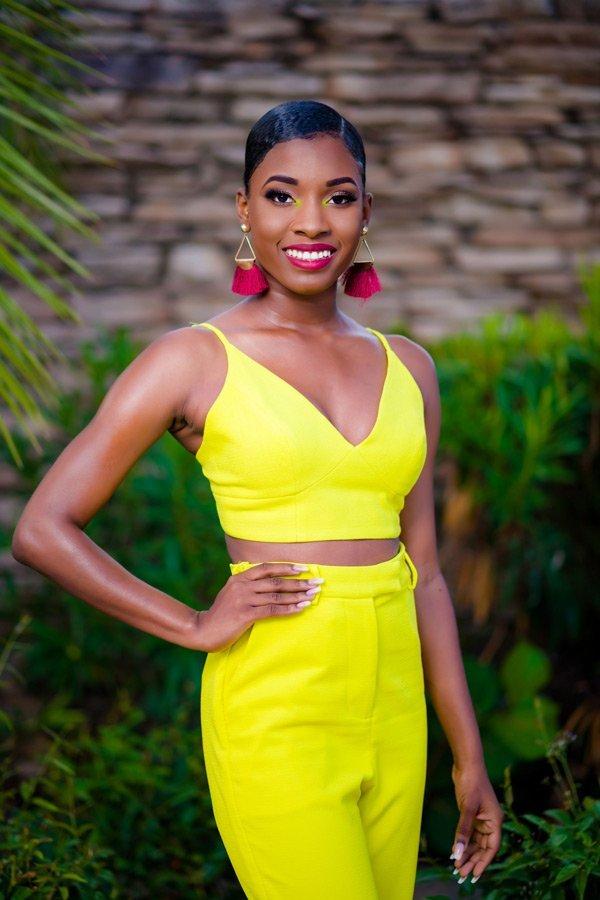 Miss Anguilla Contestant Nicole