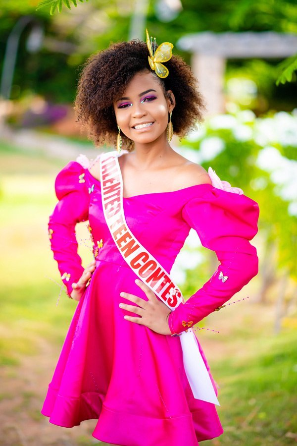 Miss Talented Teen Anguilla Sulandy Fleming