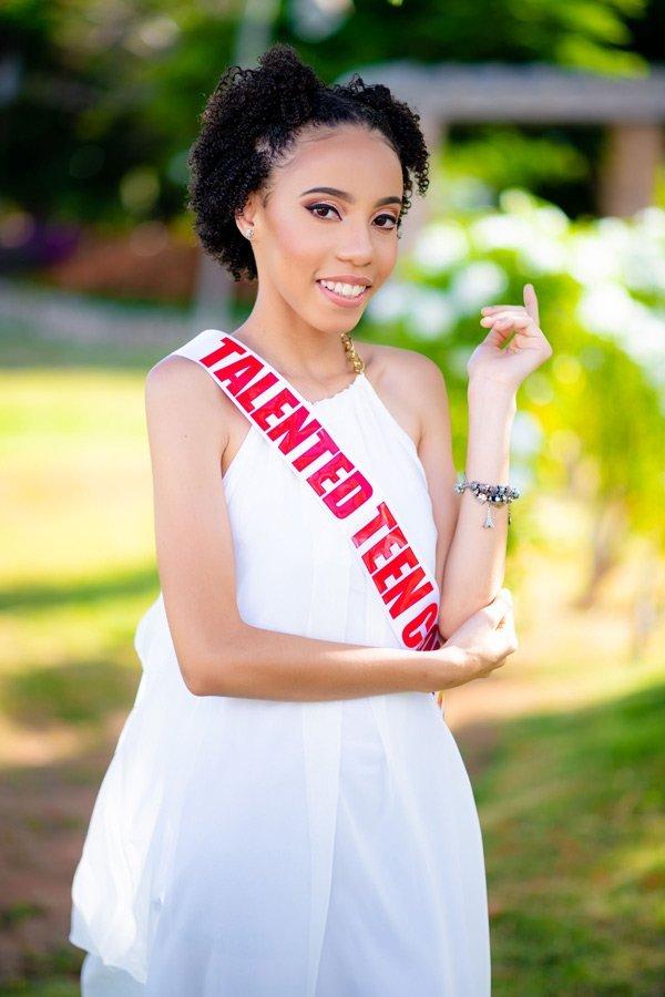 Miss Talented Teen Anguilla Kyliyah Baird