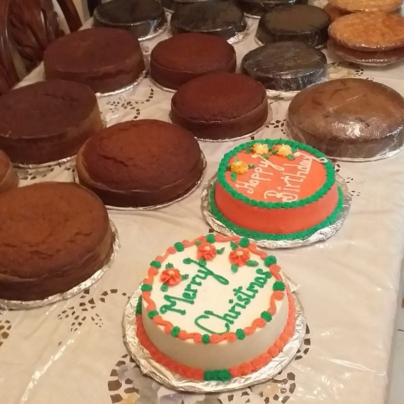 Cakes by Sheldon Browne and his mother, Chelsea